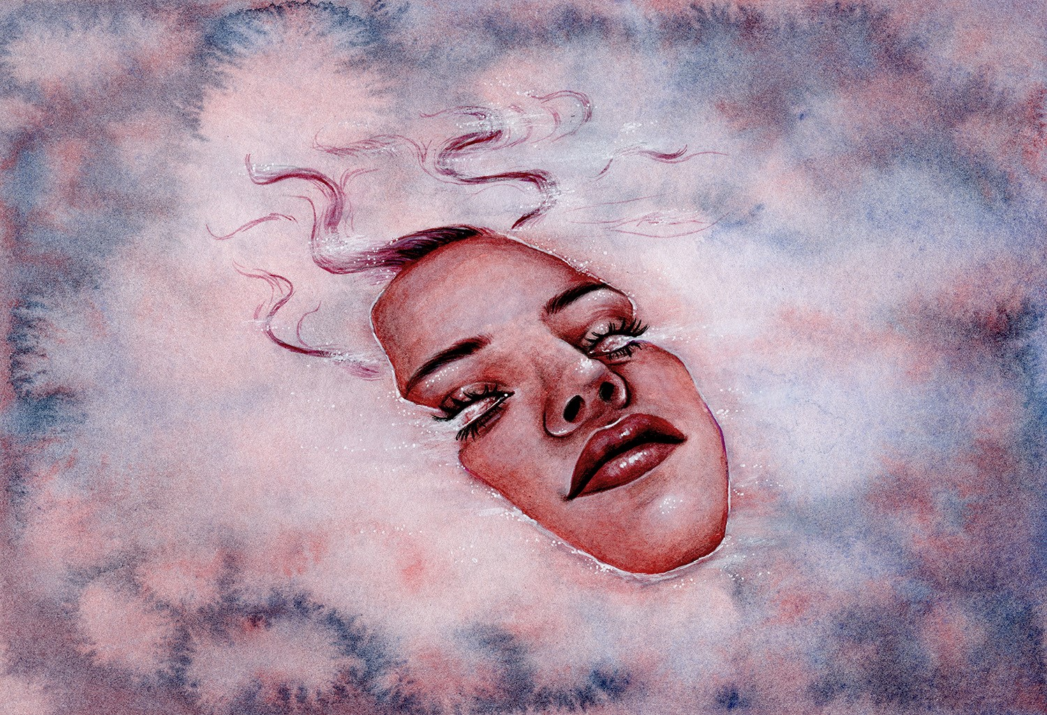 Ascendant - Watercolour Illustration