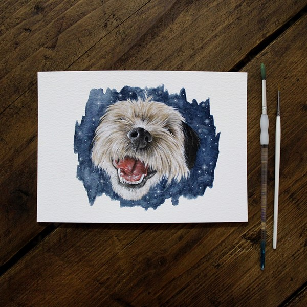 Pet Portrait - Reggie